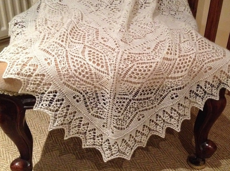Shawl after